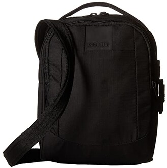 Pacsafe Metrosafe LS100 Anti-Theft Crossbody Bag (Black) Cross Body Handbags