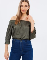 Whistles Penelope Off-Shoulder Top