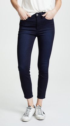 Paige Margot High Rise Crop Skinny Jeans