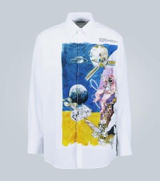 Valentino Spaceland long-sleeved shirt