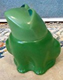 "Avon Emerald Prince"" Frog Figural Decanter Miniature Moonwind Cologne 1oz for Women"
