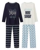 Pretty Secrets Pack of 2 Pyjama Sets