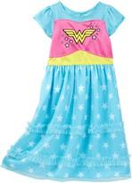 Komar Wonder Woman Dressy Gown (Toddler Girls)