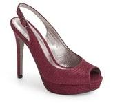 Adrianna Papell Women's Rita Platform Slingback Sandal