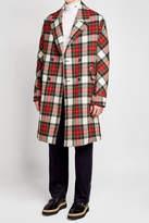 Stella McCartney Tartan Wool Coat