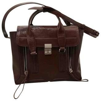 3.1 Phillip Lim Pashli Burgundy Patent leather Handbags