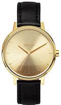 Nixon The Kensington Leather Strap Analog Watch