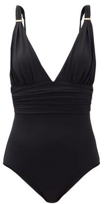 Melissa Odabash Panarea Ruched Swimsuit - Black