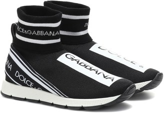 Dolce & Gabbana Kids Knitted sock sneakers