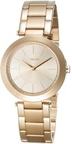 DKNY Women's 'Stanhope' Quartz Stainless Steel Casual Watch, Color:Gold-Toned (Model: NY2286)