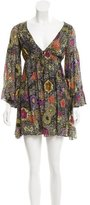 Matthew Williamson Floral Print Silk Dress