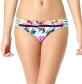 Arizona Dream Tropical Macram Side-Tab Hipster Swim Bottoms - Juniors
