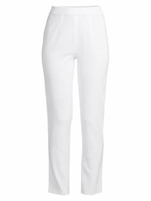 Misook Slim High-Rise Pants