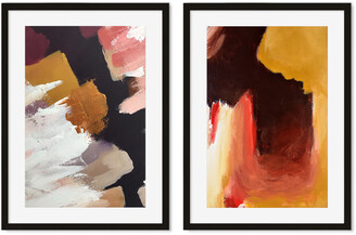 H&M Abstract Texture A3 Framed Set