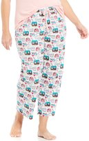 Sleep Sense Plus Happy Camper Cropped Sleep Pants