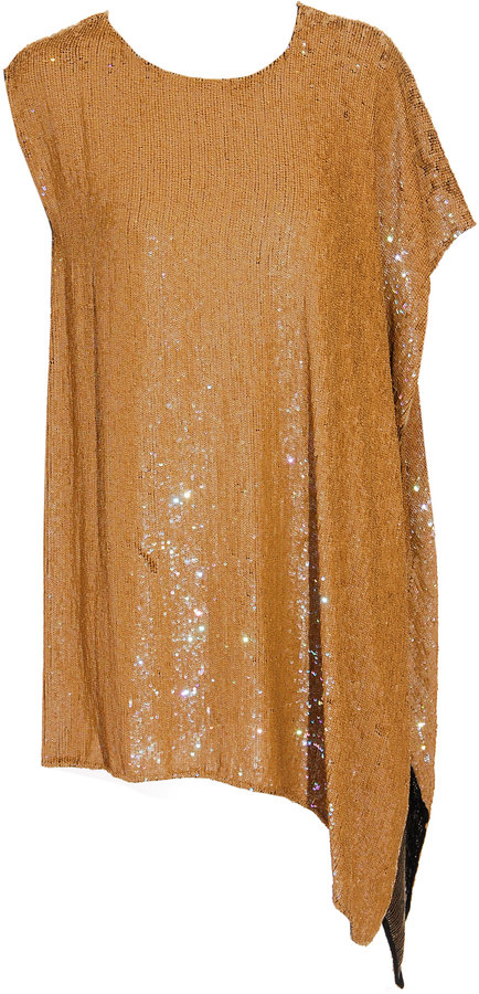 3.1 Phillip Lim Asymmetrical sequin dress