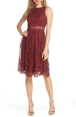 Chi Chi London Versilla Lace A-Line Dress