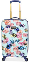 "Jessica Simpson Pineapple Hardside 21"" Spinner Suitcase"