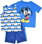"""Disney's Mickey Mouse Toddler Boy """"The One And Only"""" Tee, Tank Top & Shorts Set"""
