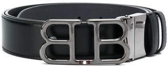 Bally Logo Plaque Belt