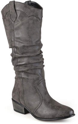 Journee Collection Womens Drover Slouch Riding Boots