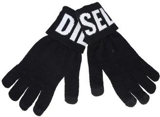 Diesel Logo Knitted Gloves