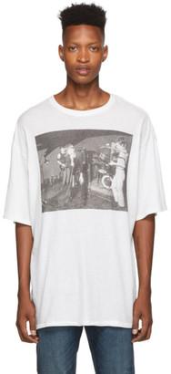 R 13 White Joy Division Warsaw T-Shirt
