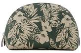 Violeta BY MANGO Floral Jungle saffiano-effect cosmetic bag