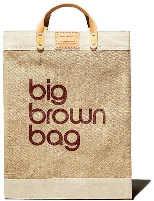Apolis Big Brown Bag Market Bag - 100% Exclusive