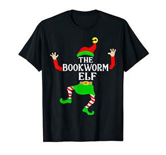 Bookworm Elf Matching Family Group Christmas Party Pajama T-Shirt