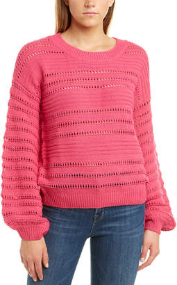 Willow & Clay Open-Knit Sweater