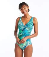 L.L. Bean Slimming Swimwear, Tanksuit Print