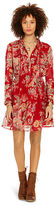 Denim & Supply Ralph Lauren Floral Pleated-Bib Dress