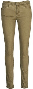 Acquaverde JOE women's Skinny Jeans in Brown
