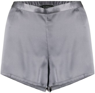 La Perla pajama silk shorts