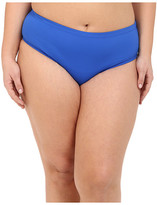Becca by Rebecca Virtue Plus Size Becca ETC Caravan Solid Full Pants