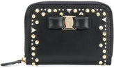 Salvatore Ferragamo embellished zip purse