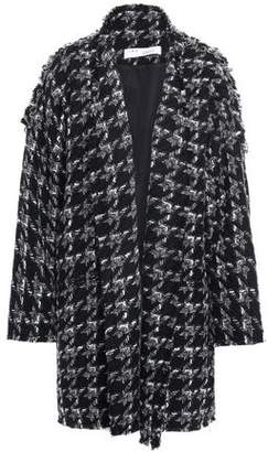 IRO Trouble Oversized Houndstooth Boucle Coat