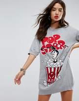 Love Moschino Popcorn Knit Dress