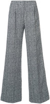 Derek Lam high-waisted wide trousers - women - Silk/Cotton/Polyester/Spandex/Elastane - 36