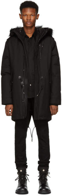 Mackage Black Fur Moritz-D Parka