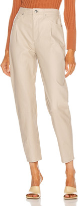 Sprwmn Tailored 5 Pocket Pant in Nude | FWRD
