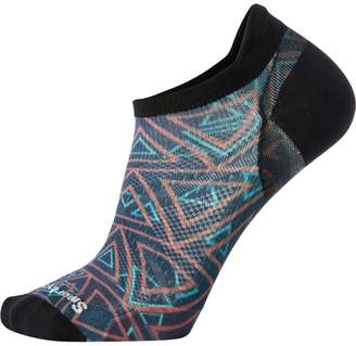 Smartwool PhD Run Ultra Light Print Micro Sock - Men's