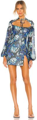 Kim Shui Butterfly Print Mini Dress