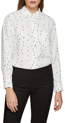 Oxford Lilly Confetti Printed Blouse
