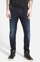 G Star 'Defend' Slim Fit Jeans (Dark Aged)
