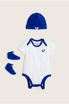 True Religion 3 Pc Onesie Baby Gift Set