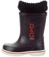 Dolce & Gabbana Boys' Logo-Embellished Rain Boots