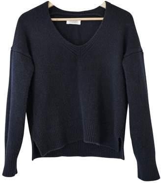 Toast Navy Wool Knitwear for Women