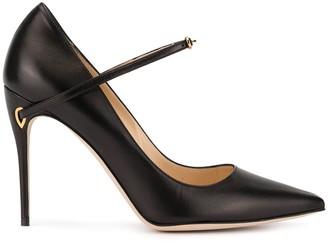Jennifer Chamandi Lorenzo pointed pumps